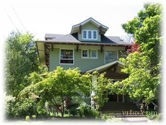 Front of house - Beautiful Apartment in Irvington Neighborhood - Portland - rentals
