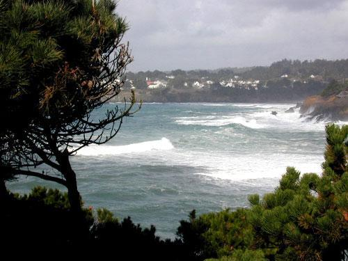 Stunning ocean views - Chapman Point House -across the Bay from Mendocino - Mendocino - rentals