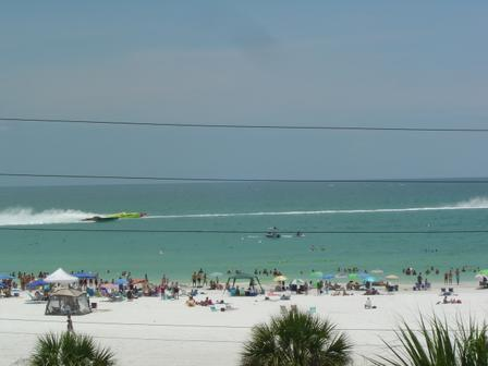 Gulf View from Condo - A Beautiful Beachfront Condo on Siesta Key Beach - Sarasota - rentals