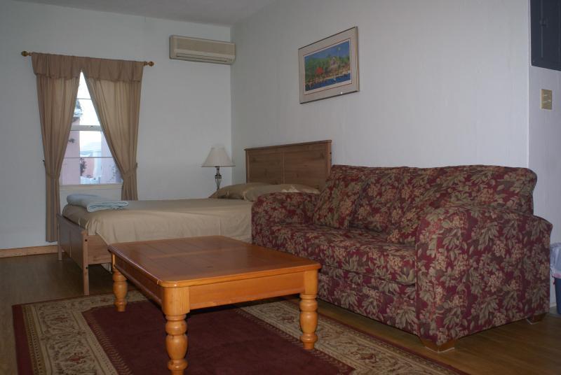 Living room / bed - Gobbler's Corner - Saint George - rentals