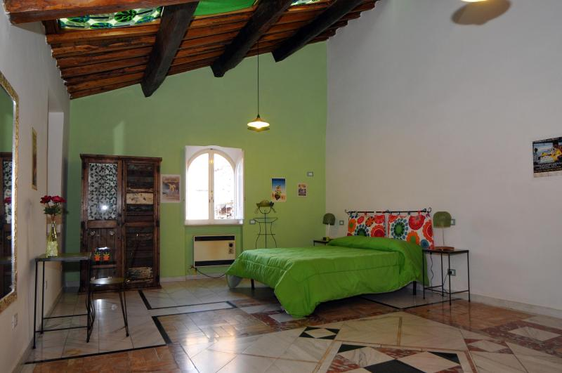 Sleeping area - Nice flat in a small building of the 16th century - Tivoli - rentals