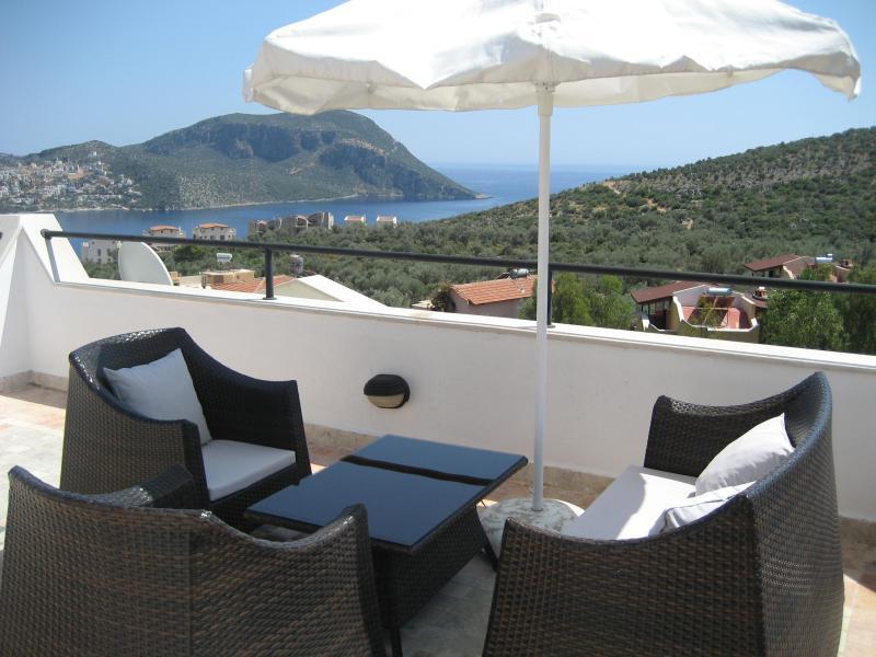 Roof terrace - Jasmine Apartment - Kalkan - rentals