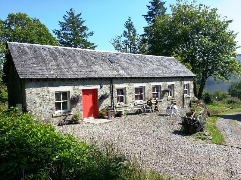 Letter Steading - sunny view - Welcome to Letter Steading,Loch Katrine(Trossachs) - Callander - rentals