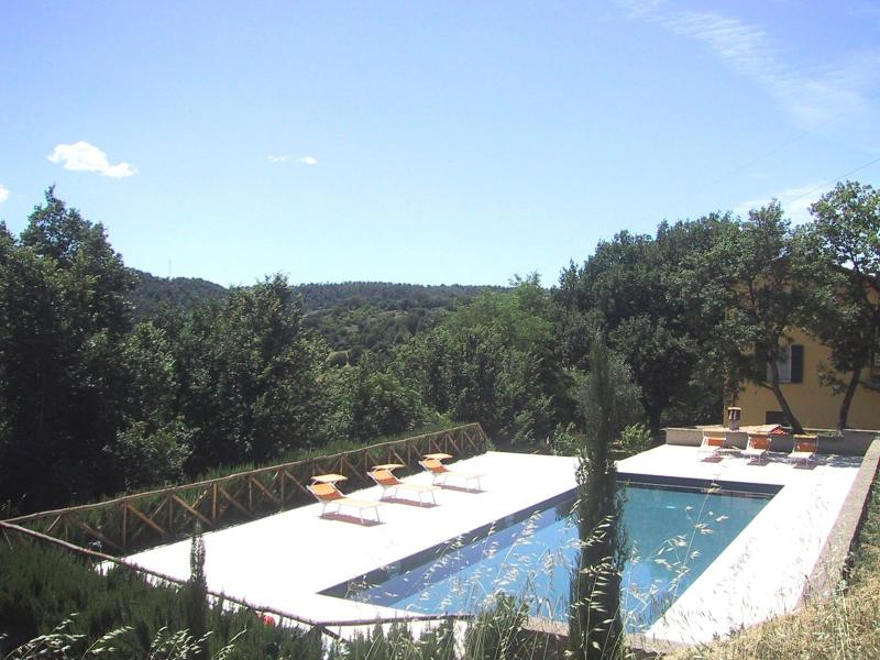 15m x 5m private pool - The Yellow House in rural Italy large private pool - Civitella d'Agliano - rentals