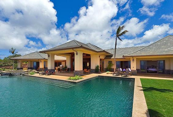 Ocean views Maui estate w/ golf course- - Image 1 - Kapalua - rentals
