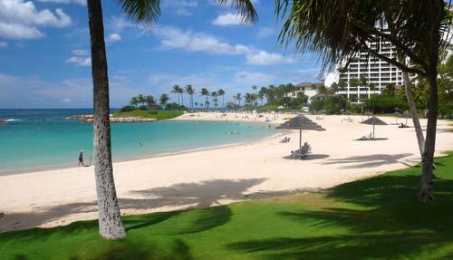 Snorkel among colorful tropical fish and sea turtles - without the crowds of Waikiki! - Luxury Ground Floor Villa Near Beach!  Golf Cart! - Kapolei - rentals