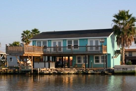 View of Frisco Flats from Copano Bay - Frisco Flats - Rockport - rentals