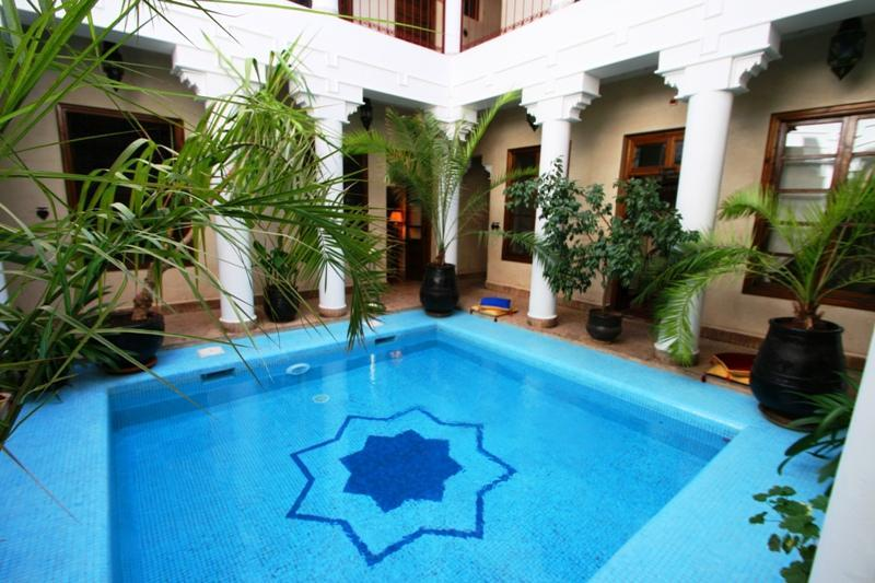 Courtyard Pool - Riad Africa, Luxury Riad in heart of Marrakech - Marrakech - rentals