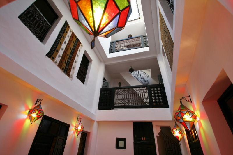 Riad Arabia - colours of the riadd - Riad Arabia - Marrakech - rentals