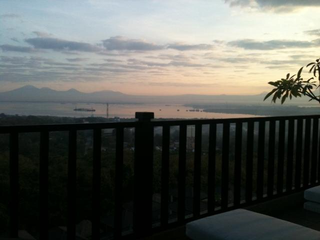 Master bedroom Balcony - Apartment with Panoramic views - Nusa Dua - rentals