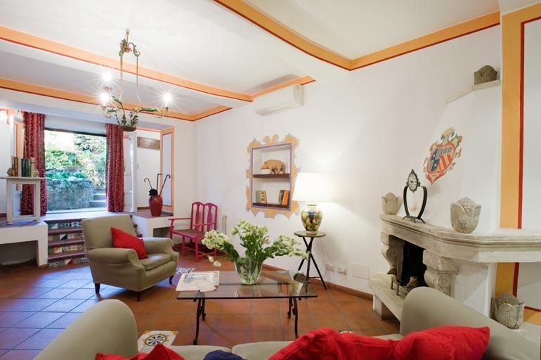 The living room - Villa Giulia Suites - Aventino - Rome - Rome - rentals