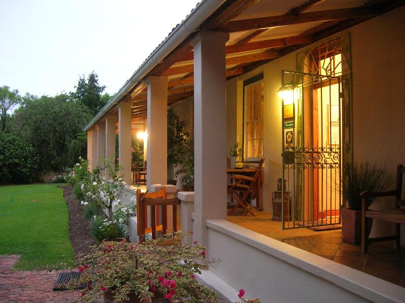 Veranda / terrace - The Old Trading Post - Guest House - Wilderness - rentals