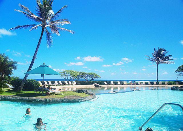 Kauai Beach Resort 2544: Affordable oceanfront luxury, resort amenities! - Image 1 - Lihue - rentals
