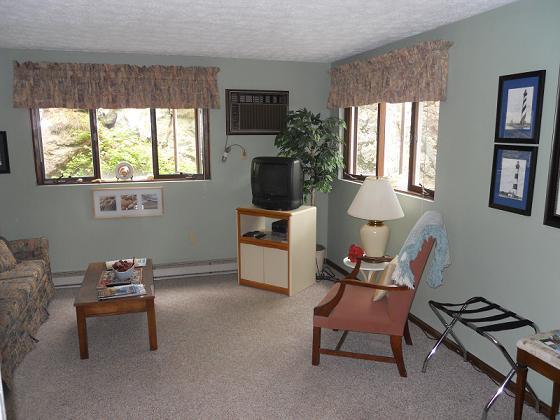 bright , everything needed included, walk out door to garden and grill area - Ogunquit Condo! [  sorry full] - Ogunquit - rentals