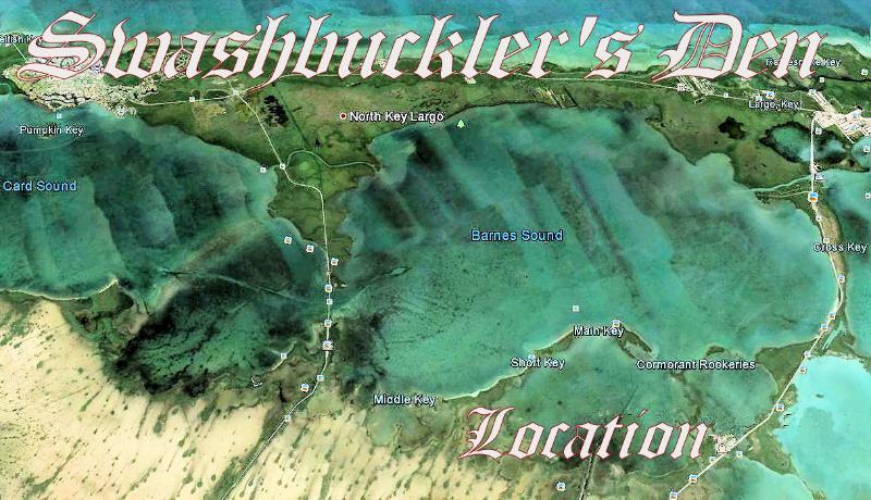 SWASHBUCKLER'S DEN - On the Water w/ 40 Foot Dock - Image 1 - Key Largo - rentals