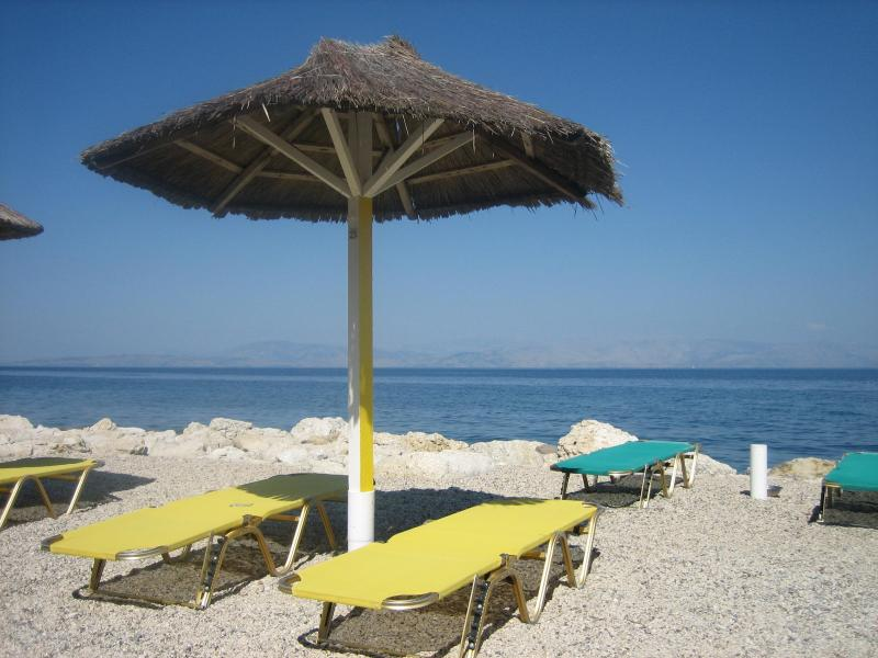 This is for u - Andromaches Holiday Apartment Sea view studio 2Pax - Corfu - rentals