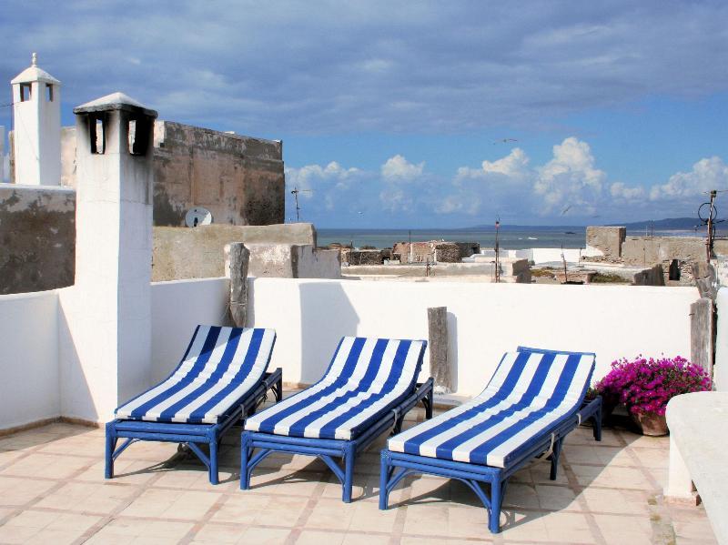 Roof terrace - Chez Rebecca - Essaouira - rentals
