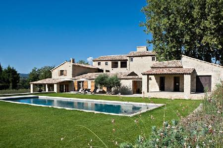 Ideal for Large Groups - Beautiful Countryside Villa Bastide Vallat with Pool, Jacuzzi & Daily Maid - Image 1 - Luberon - rentals
