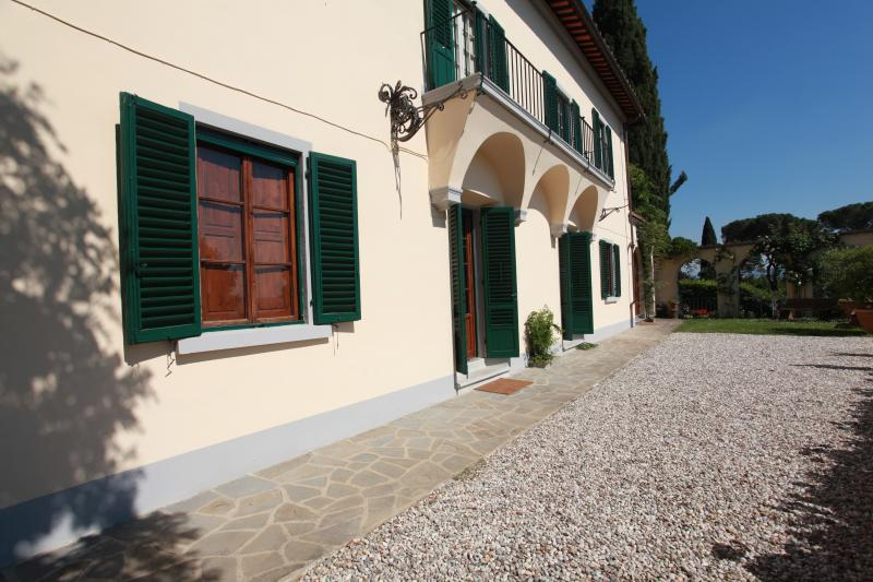 Villa near Florence and Fiesole and Walking Distance to a Village - Le Terrazze - Image 1 - Fiesole - rentals