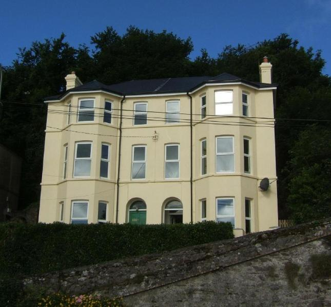 3 and 4 Clifton, taken from the promenade - 3 Clifton - Luxury house overlooking sea, sleeps 8 - Youghal - rentals