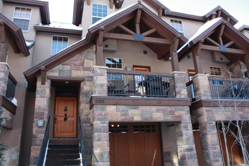 Beautiful Exterior of Red Quill 505 - Red Quill 505 - Winter Park - rentals