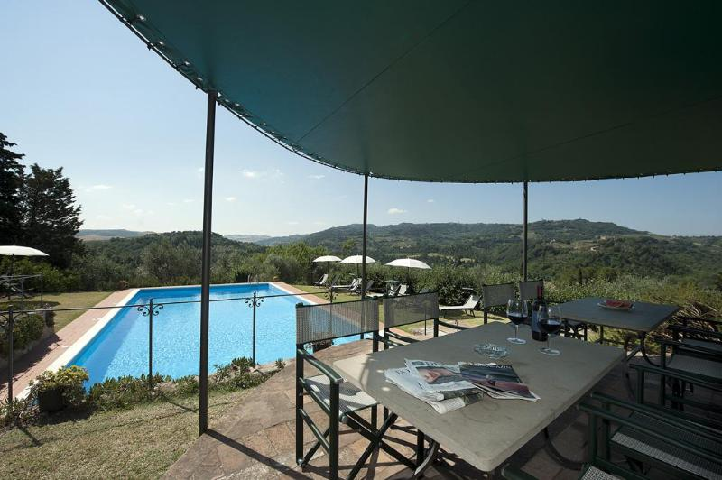 Private swimming pool - Villa Montaperti with private and panoramic pool - Volterra - rentals