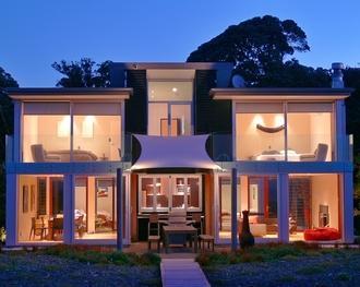 Waiotahi Villa - Night View - Waiotahi Villa - Opotiki - rentals