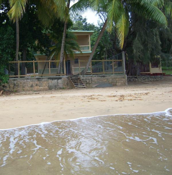 beach side of house - Barrero Beach House - Rincon - rentals