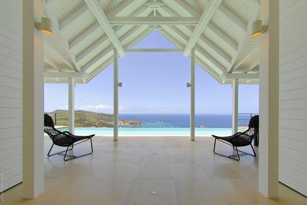 Hillside with one of the most spectacular views St Barts offers WV VUE - Image 1 - Colombier - rentals