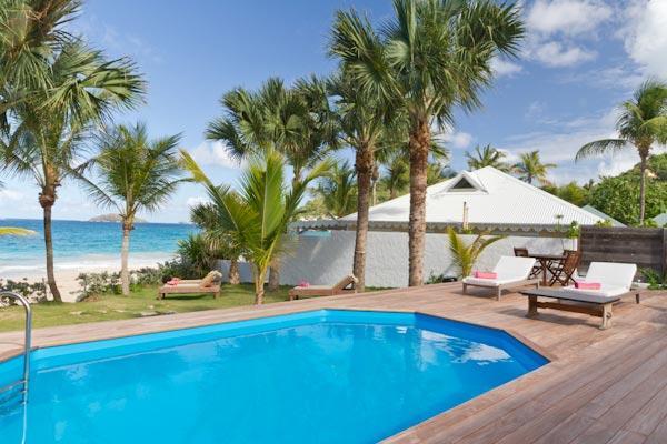 Lovely villa on Flamands Beach just a few steps from the water WV VMG - Image 1 - Saint Barthelemy - rentals