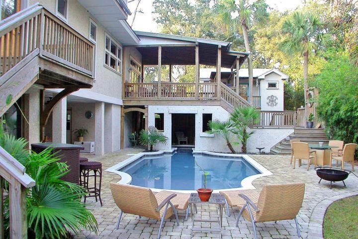 The Best Backyard - Most INCREDIBLE Beach Home-7BR/5.5-Booking 2015/16 - Hilton Head - rentals