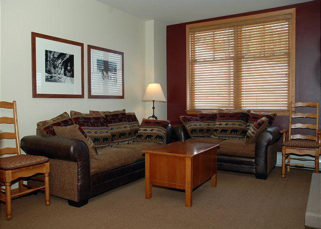 Ski in Ski out Zephyr Slopeside Bldg w/views. 2 bedroom sleeps 10!!! - Image 1 - Winter Park - rentals