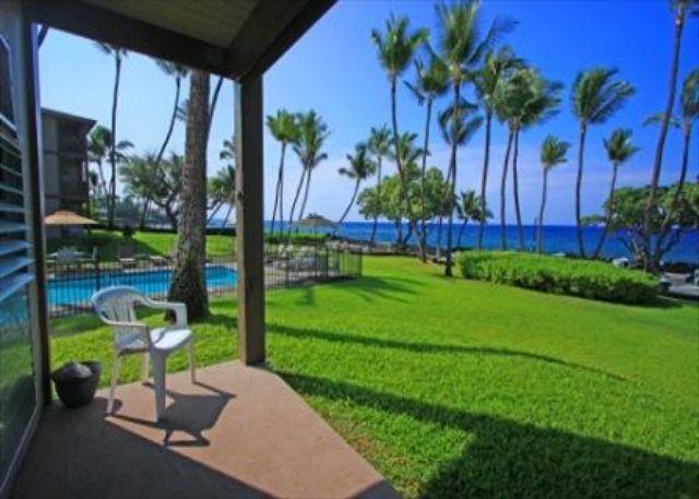 Kona Isle D4 OCEANFRONT UNIT $90.00 special May-June!! - Image 1 - Kailua-Kona - rentals