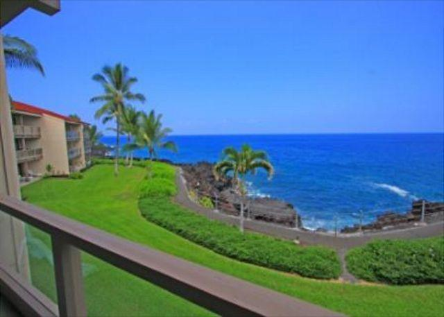 KKSR3202 $119.00 special Aug-September! Direct oceanfront, Spacious, 2nd Flr - Image 1 - Kailua-Kona - rentals