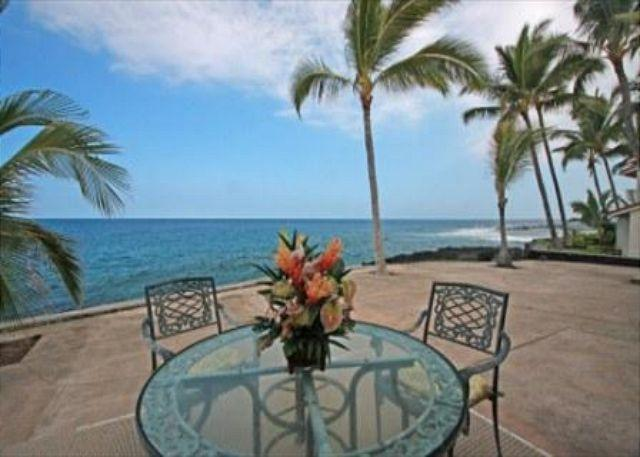 Lanai View - KKSR 185 $119.00 special Aug-September!! DIRECT OCEANFRONT, Wifi, A True Gem - Kailua-Kona - rentals
