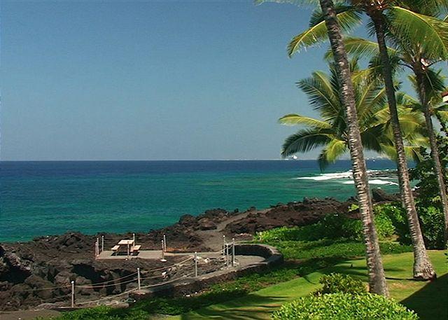 KKSR2204 $115.00 special May-September! DIRECT OCEANFRONT CORNER UNIT!!! - Image 1 - Kailua-Kona - rentals
