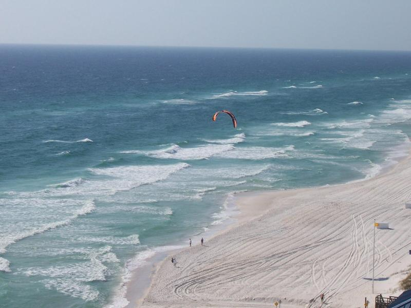 View From Your Balcony - Pool and Hot Tub at Beachside 2 Bedroom Condo - Panama City Beach - rentals