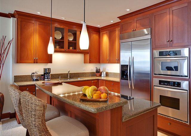 Kitchen - Luxury Condo in Kolea-15H, steps away from the beach! - Waikoloa - rentals