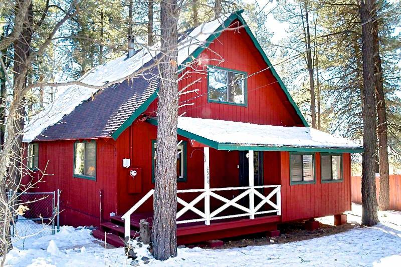 Front of the Cabin - Luxury Cabin/Great Deck in the Pines with Hammocks - Flagstaff - rentals