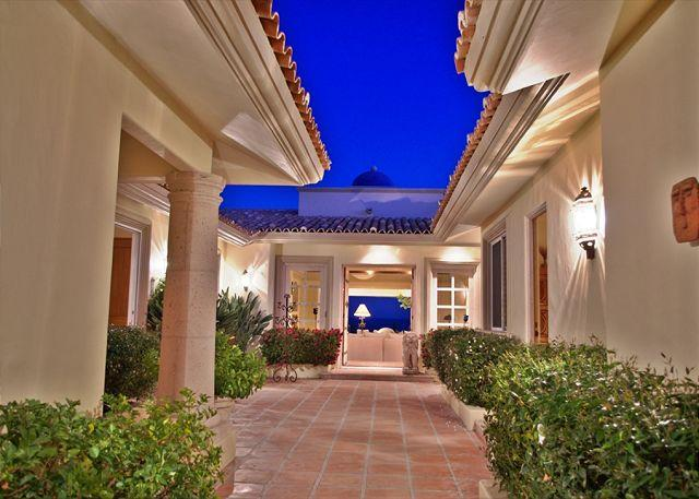 EXTERIOR - Casa Stamm, Hacienda-style home perfect for families. - Cabo San Lucas - rentals