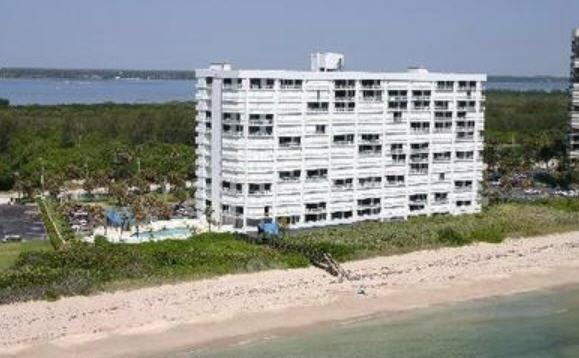 Unit is high floor corner - Oceanfront 3BR Condo on Hutchinson Island - Hutchinson Island - rentals