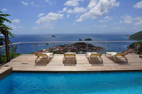 Charming villa with spectacular views over Gustavia WV MOU - Image 1 - Lurin - rentals