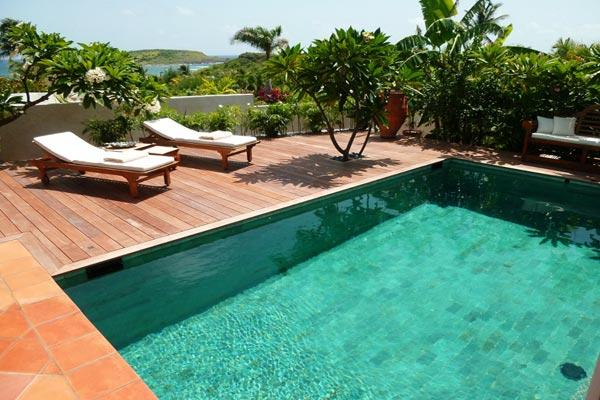 Beautiful ocean view over Turtle Island with privacy and space WV EUG - Image 1 - Saint Barthelemy - rentals