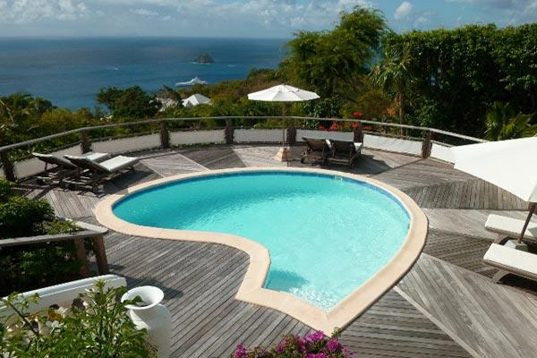 Hidden on the hillside of Colombier offering great views WV TAN - Image 1 - Colombier - rentals