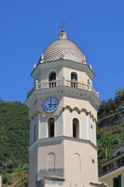 View on Santa Margherita Church - 'Nta Ciasa and Er Mae in Vernazza Cinque Terre - Vernazza - rentals