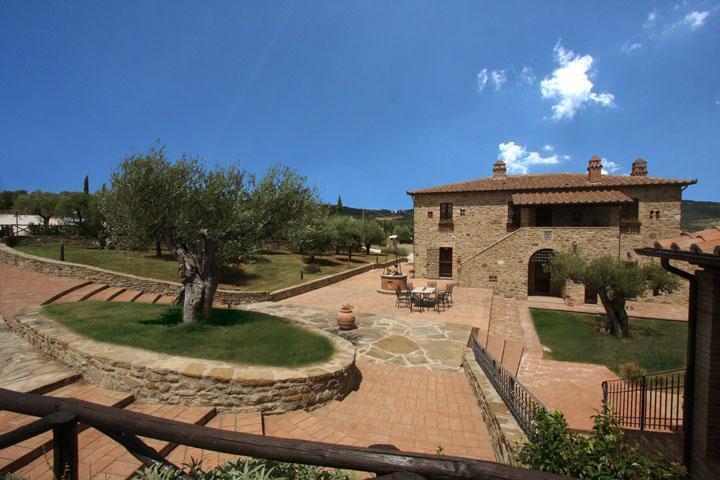 Luxury Villa in Cortona area, great Views - Image 1 - Arezzo - rentals