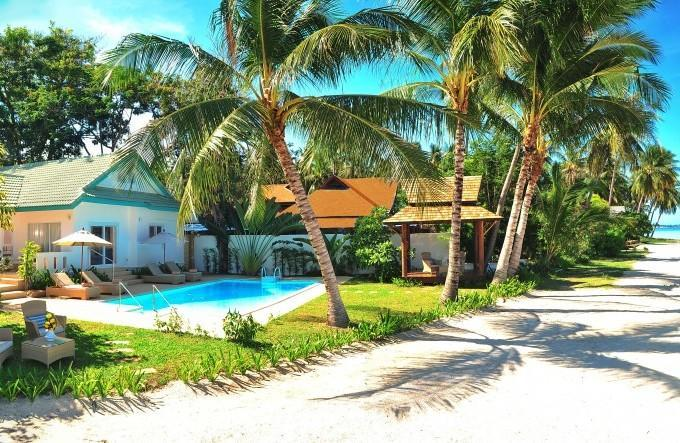 Baan Rim Haad 3 bedroom luxury  beachfront villa - Baan Rim Haad 3 BR Luxury Beachfront Villa - Lamai Beach - rentals