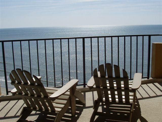 Your Balcony View from #911 - Stunning 2 Bedroom Family Vacation Rental at Oceanfront Resort in Myrtle Beach - Myrtle Beach - rentals
