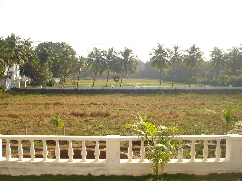 View from the apartment - The Nest - 2 BHK furnished AC house in Siolim Goa - Goa - rentals