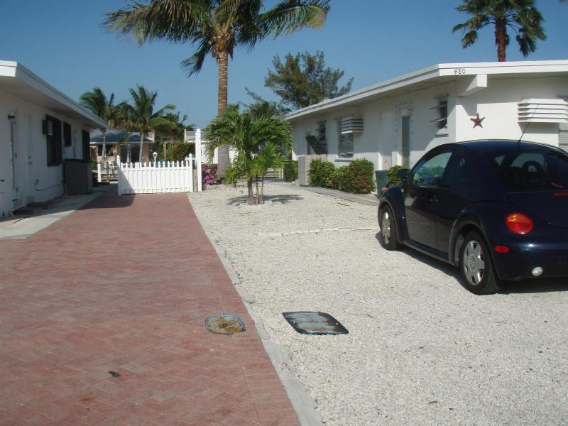 View of front. - Florida Keys Newly Renovated Tropical Paradise - Key Colony Beach - rentals